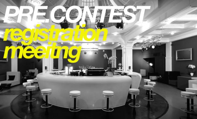 Pre.Contest meeting & Pre.Registration event